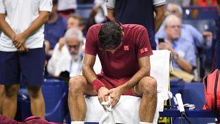 US Open: Federer fuori, Djokovic dentro