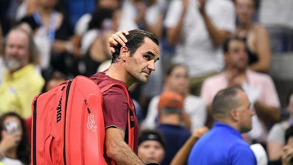 US Open: Federer-Aus gegen Nummer 55 der Welt