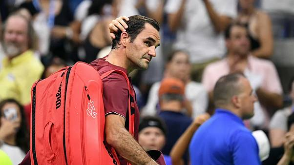 Roger Federer afastado do Open dos EUA