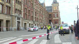 Tatort der Messerattacke: der Hauptbahnhof von Amsterdam