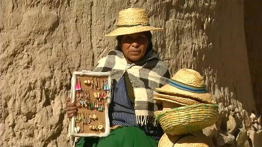 Tribo boliviana enfrenta as alterações climáticas