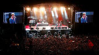 Die Toten Hosen ao vivo em Chemnitz num concerto antiviolência