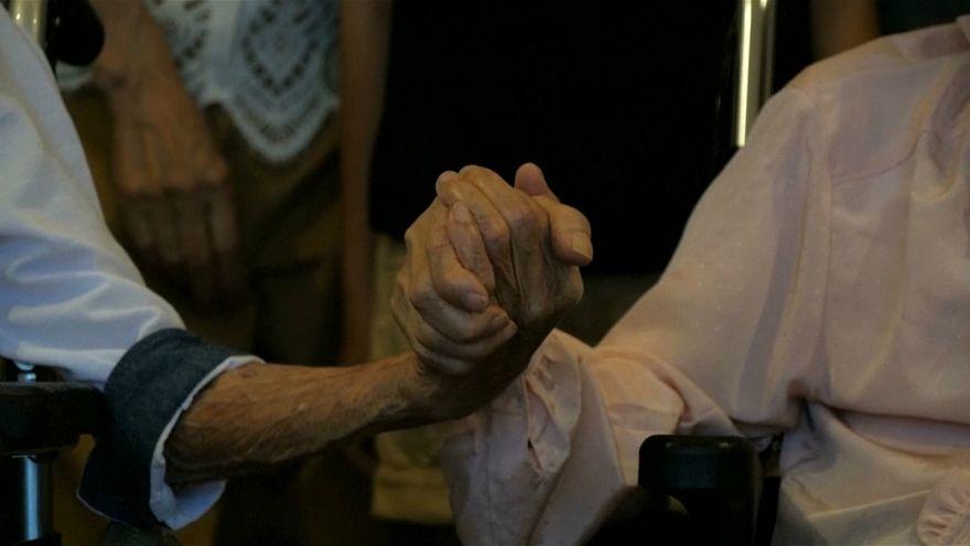 en yaşlı evli çift