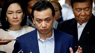فیلیپین؛ لغو فرمان عفو سناتور مخالف دولت و صدور حکم بازداشت وی