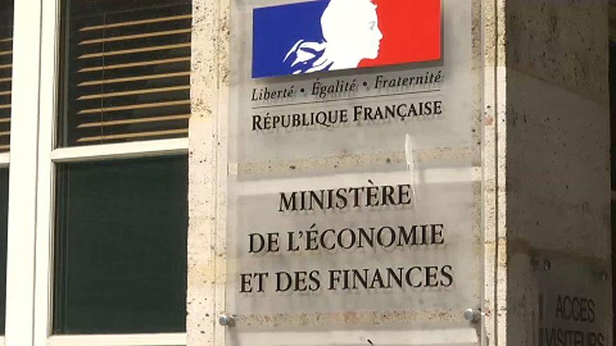 A francia pénzügyminisztérium cégére