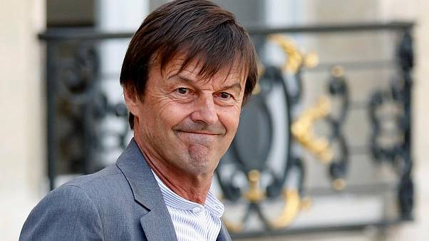 Former French environment minister Nicholas Hulot
