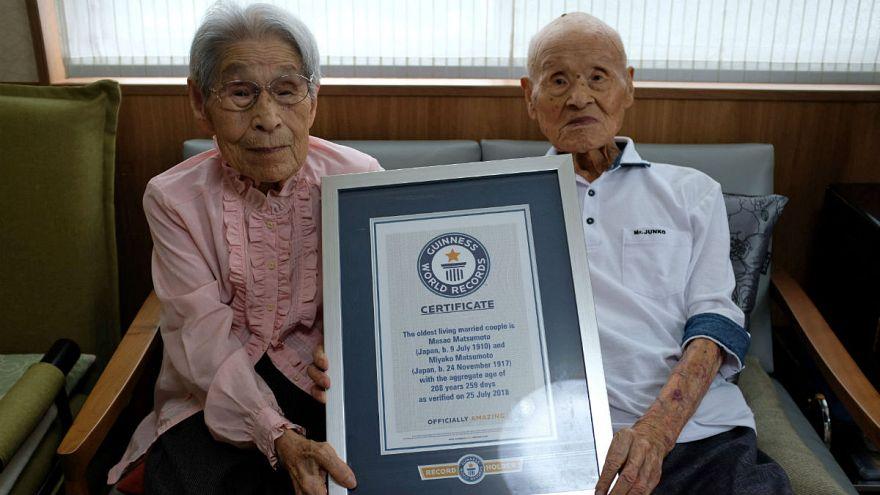 رکورد جهانی طولانیترین زندگی مشترک زوج زنده ثبت شد