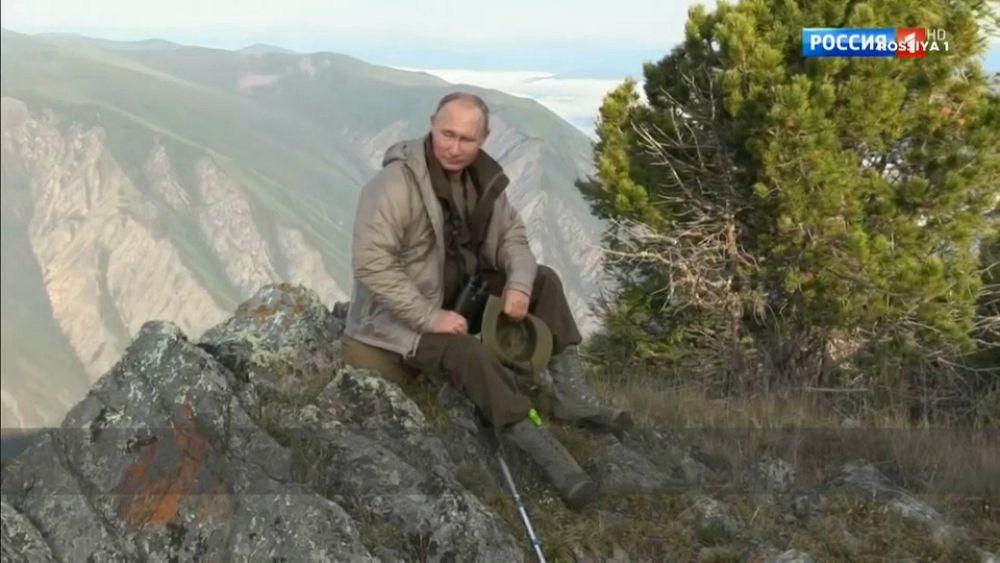Vladimir 'Scarer of Bears' Putin gets reality state TV show