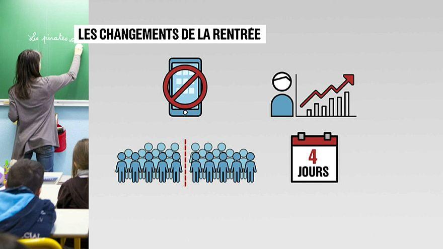 """فرنسا تمنع """"استخدام"""" الهواتف المحمولة في المدارس"""