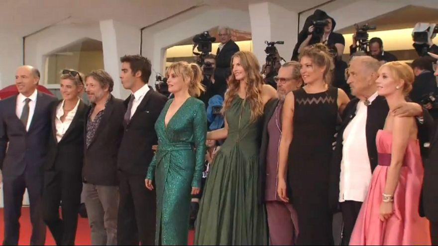 فرش قرمز فیلم ونگوگ در جشنواره فیلم ونیز