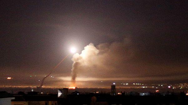 «حمله جنگندههای اسرائیلی» به استان حما در سوریه