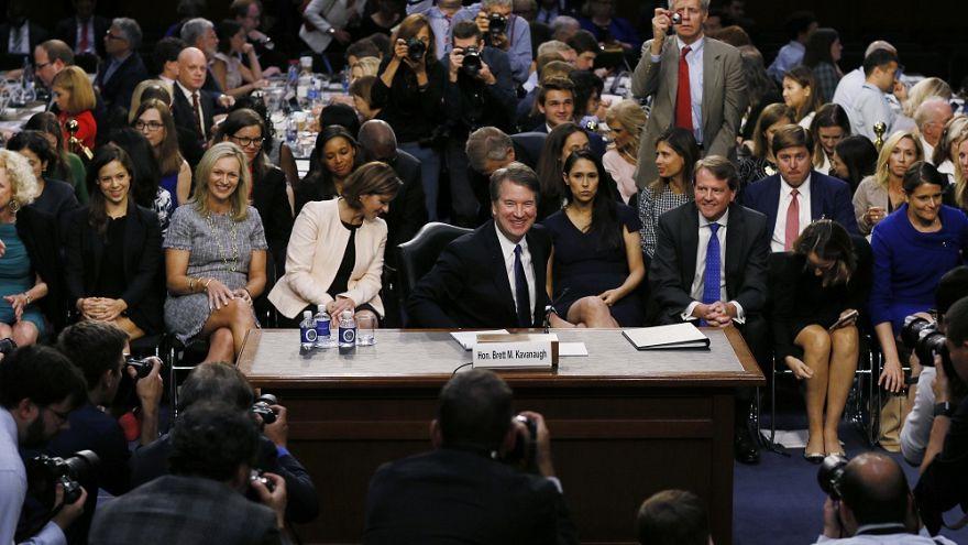Neuer Richter für Supreme Court: Proteste bei Kavanaughs Anhörung