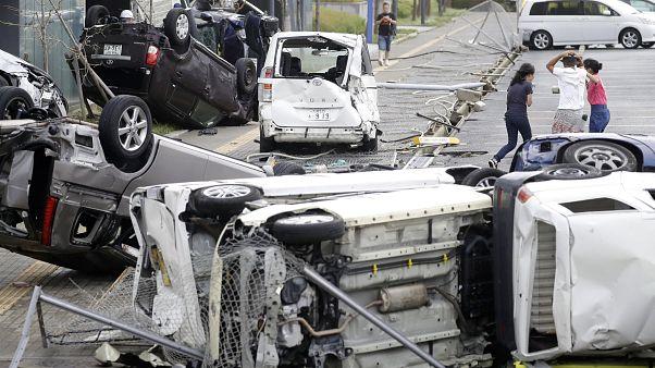 Japon : le typhon Jebi laisse au moins 10 morts derrière lui