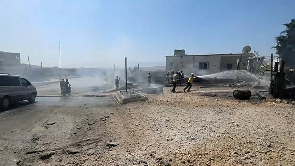 Bombardeamento de Idlib antes de encontro entre Putin, Erdoğan e Rouhani