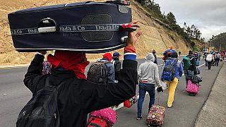 Krizden kaçan 2 milyon Venezuelalı için 11 ülkeden yardım çağrısı