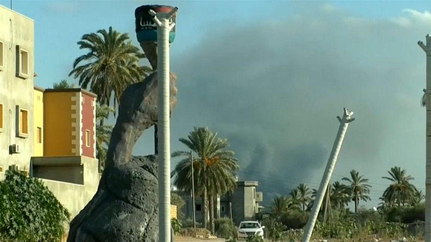 В Триполи снова спокойно?