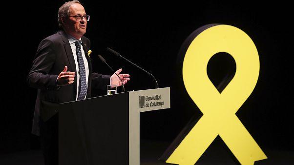Madrid pide a Torra dialogar para todos los catalanes