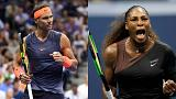 US Open: Nadal e Serena Williams in semifinale