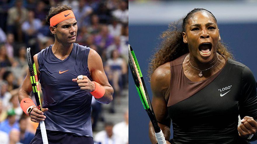US Open: Nadal e Serena Williams in semifinale