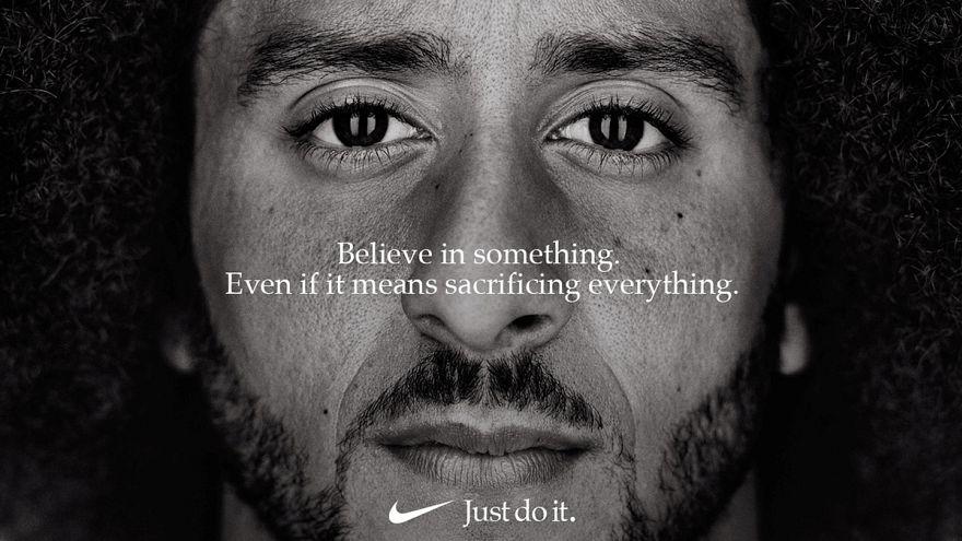La alianza de Nike con Kaepernick divide a Estados Unidos