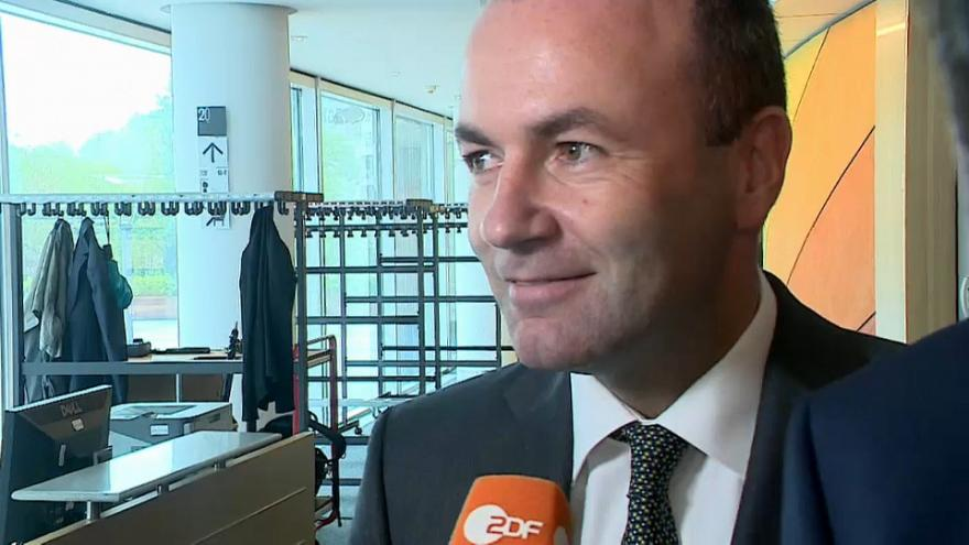 Don't mention the Commission! Manfred Weber deflects question on the EU institution he wants to lead