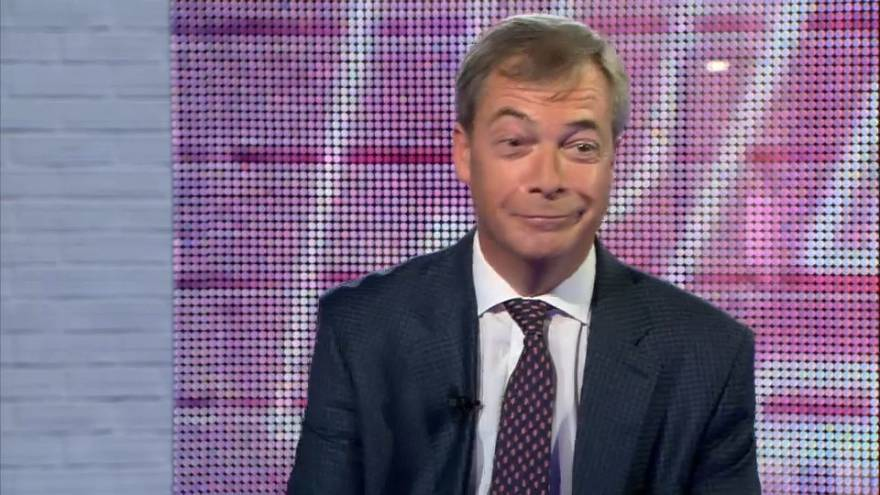 "In One Word: who does Nigel Farage think is ""Failed"", who's ""Fun"" and who's ""Dangerous""?"