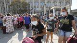 """Из Армянска эвакуируют, но угрозы """"не видят"""""""