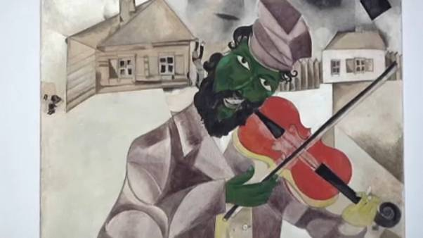 Exhibition of Russian-French modernist painter Marc Chagall opens in Italy