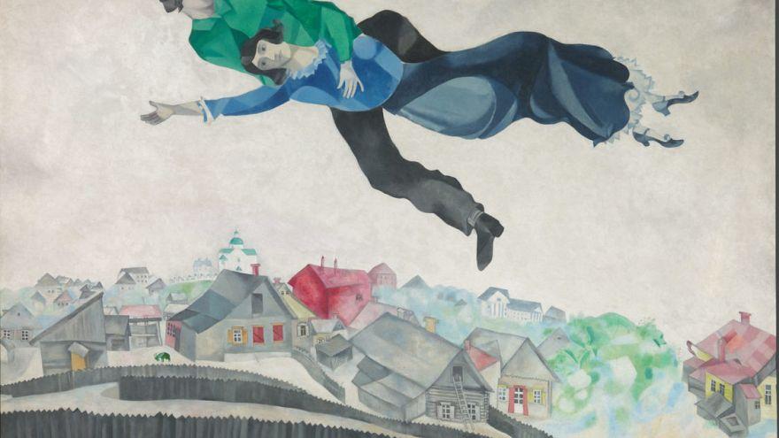 Chagall na pintura como na poesia