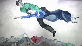 Gran exposición sobre Chagall en Mantua