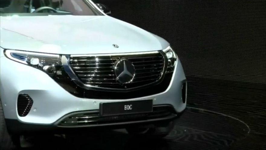 Mercedes aposta no mercado dos carros elétricos de luxo