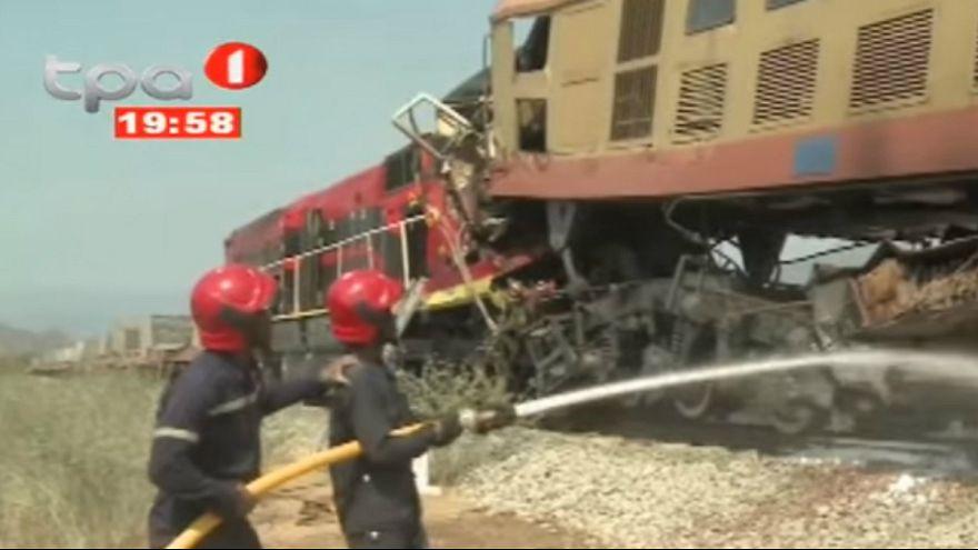 Televisão Pública de Angola já difundiu imagens do acidente