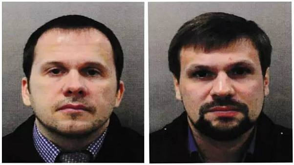 Novichok murder suspects 'are Russian intelligence officers'