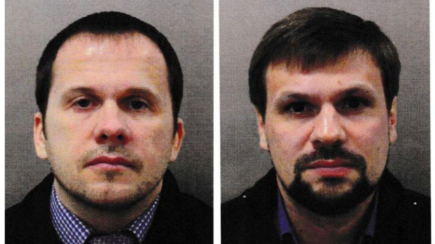 Alexander Petrov and Ruslan Boshirov in a Metropolitan Police handout