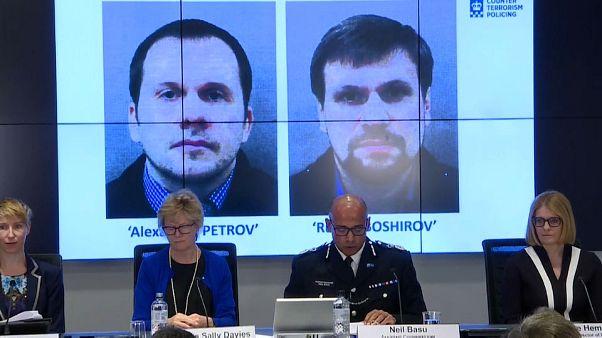 بريطانيا تكشف عن هوية المشتبه بهما في محاولة اغتيال الجاسوس السابق سكريبال وابنته