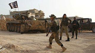 شورشیان سوری در استان ادلب