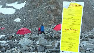 Francia restringirá las ascensiones al Mont Blanc