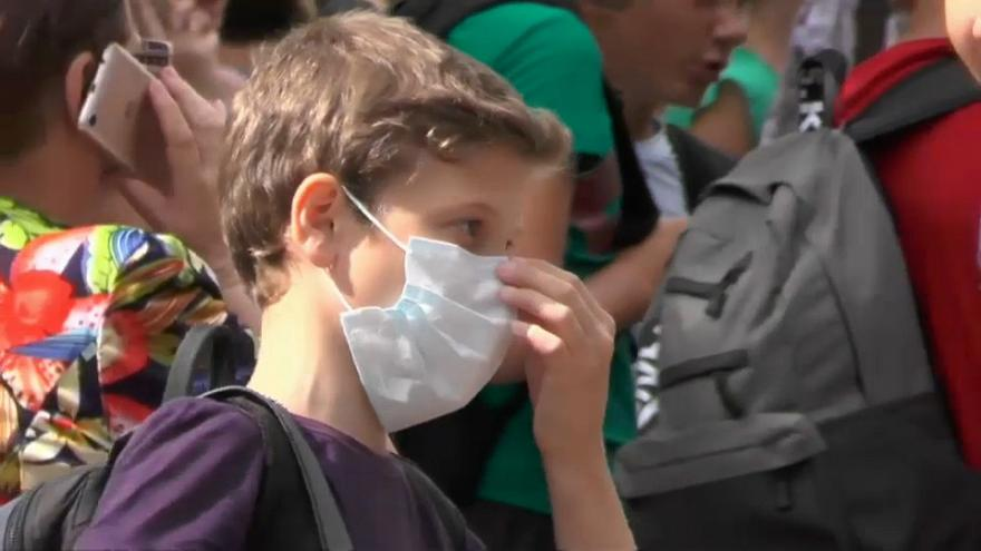 Evacuaciones en Crimea por la polución