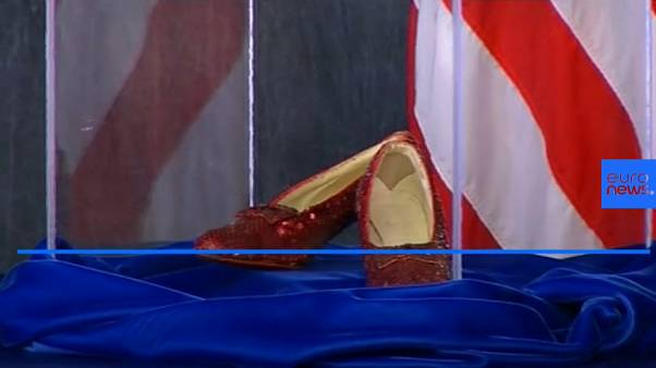 """Wizard of Oz Dorothy's """"Ruby Slippers"""" recovered 13 years after theft"""