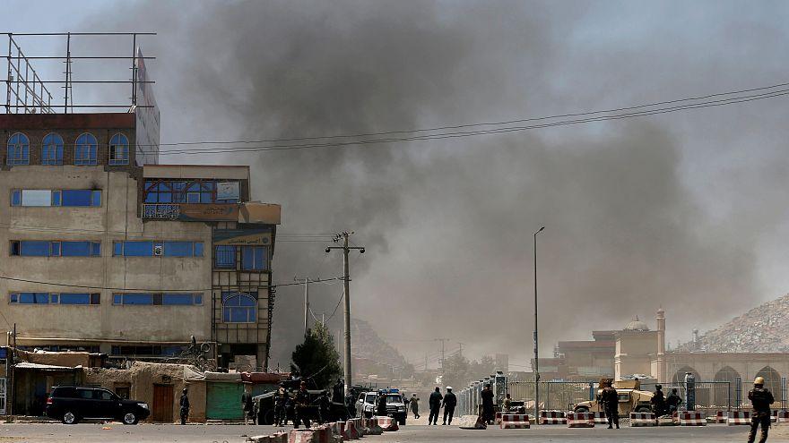 Afganistan'ın başkenti Kabil'de çifte intihar saldırısı: En az 20 ölü, 70 yaralı