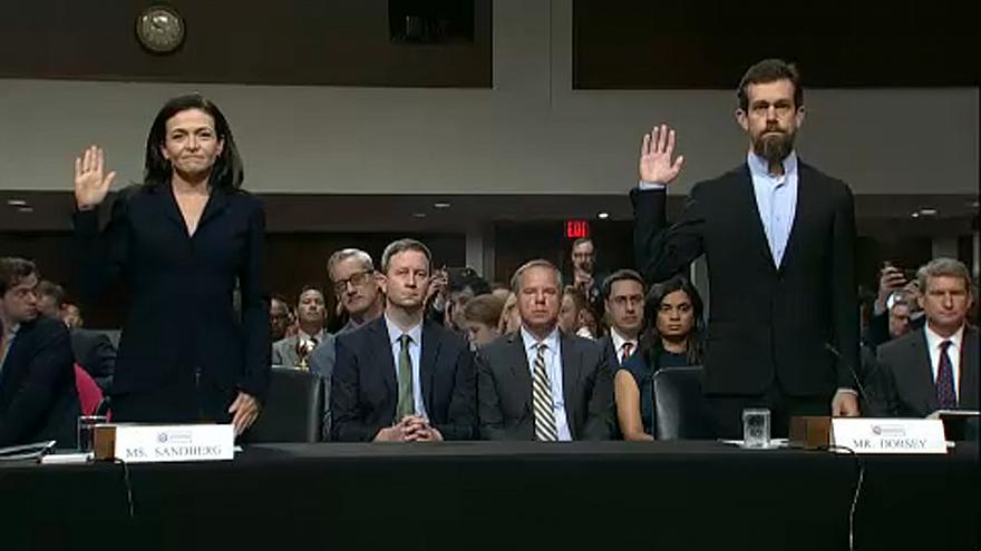 Руководство Facebook и Twitter заслушали в комитете по разведке США