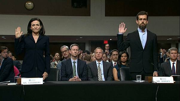 Facebook, Twitter vor US-Senat