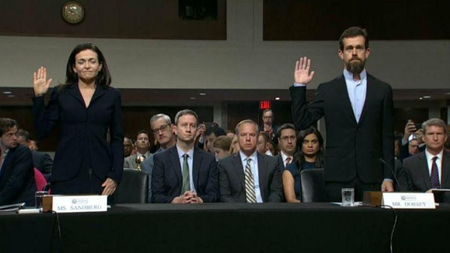 Facebook e Twitter in audizione al Congresso USA
