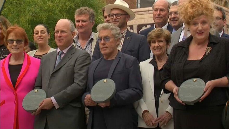 Celebs enter London's Royal Albert Hall 'Hall of Fame'