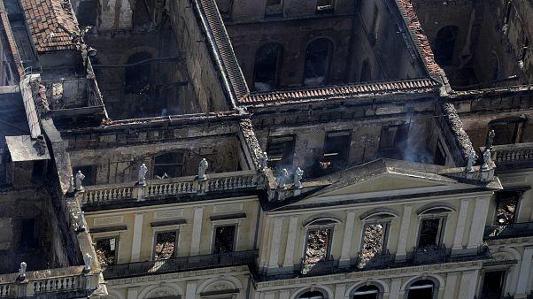 Restaurer le musée national de Rio prendra des années