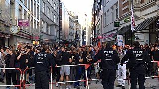 10.000 Menschen demonstrieren gegen rechte Kundgebung in Hamburg