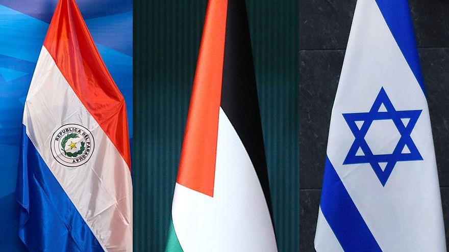 İsrail, Filistin ve Paraguay arasında diplomasi satrancı