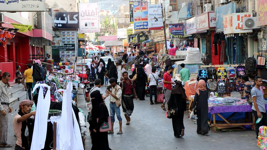يمنيون يتظاهرون احتجاجا على عرض سعودي لتعويض ضحايا هجوم صعدة