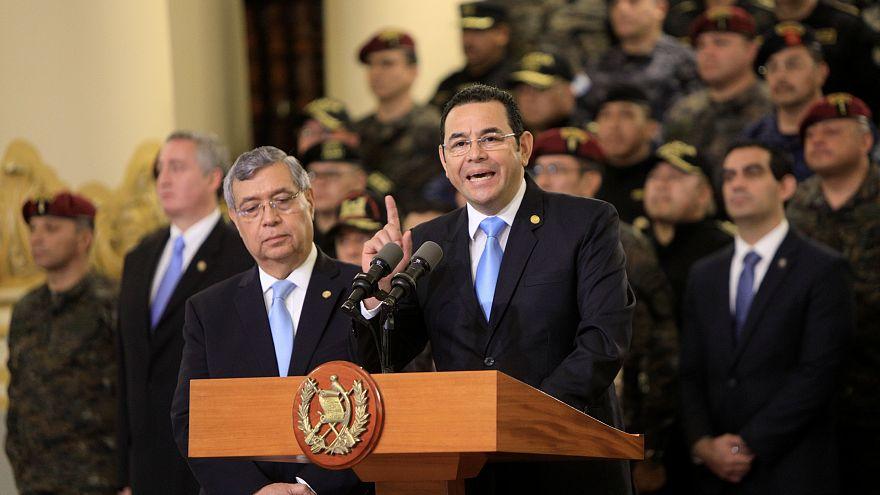 Yolsuzluk soruşturması nedeniyle ülkeye alınmayan BM yetkilisi Guatemala'da kriz oldu