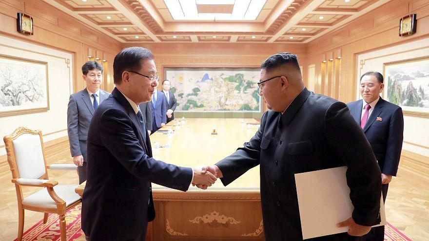قمة بين زعيمي الكوريتين من 18 إلى 20 أيلول-سبتمبر الجاري